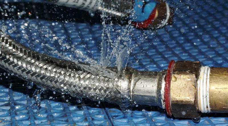burst hoses